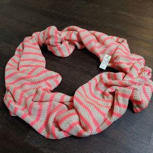 Rikka knit infinity scarf